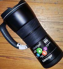 New! Contigo Travel Mug Stainless Steel vaccum insulated Thermos Cup 16oz- Black