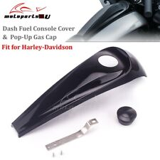Details about  /Black 5 Gallon Fuel Tank Stretched Dash Panel For Harley Electra Glide FLH 97-07