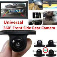 Car Vehicle Rear View Side/ Front Camera Reverse Backup Parking Mini 360° HD