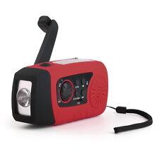 TOP CAMPING RADIO SOLAR KURBEL DYNAMO USB MP3 UKW MW TUNER OUTDOOR TASCHENLAMPE