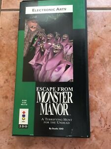 Panasonic 3DO game Escape from Monster Manor