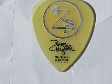 BLACK LABEL SOCIETY Zakk Wylde 2012 Tour clear Ultex guitar pick