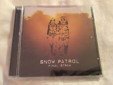 Snow Patrol CD Final Straw.  Replay CD In Sealed Cellophane.