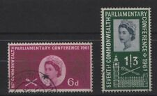Elizabeth II (1952-Now) 2 British Postages Stamps