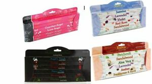 Stamford Incense Sticks - 6 Pack -  Exotic, Floral, Angel's & Mythical Selection