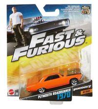 Altri modellini statici di veicoli arancione Mattel pressofuso