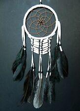TRADITIONAL DREAM CATCHER APACHESTLE BONE BEAD dreamcatcher IVORY WHITE