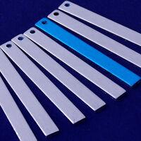 """20pcs 1/""""x1/"""" tibetara aluminum Square washer Stamping Blank 18 Gauges 10159701"""