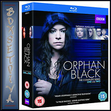 ORPHAN BLACK - COMPLETE SERIES 1 &  2  **BRAND NEW BLU-RAY BOXSET**