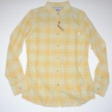 New Burton Womens Grace Long Sleeve Button Up Woven Top Shirt Medium