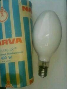 1 x NARVA HQL 400W Quecksilberdampf-Hochdrucklampe, E40, neu