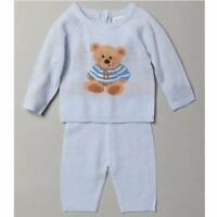 BNWT Baby Boy Gorgeous Spanish/Romany style 2 piece knitted Bear set