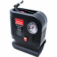 Toolman 250 PSI Portable Mini Air Compressor Tire Inflator Pump QTH036