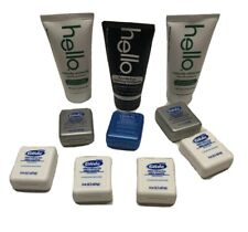 Oral Care Lot 3 Hello Toothpaste Tubes 1 Oz & 7 Oral B Glide Pro-Health Floss