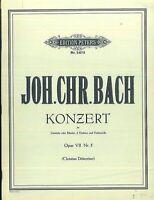 Joh. Chr. Bach - Konzert Opus VII Nr. 5