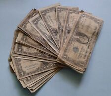 1-1957 One Dollar Well Circulated Silver Certificate Blue Seal Note - $1 Bill