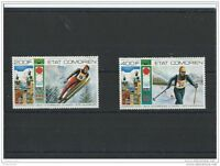 LOT : 052016/367A - COMORES 1976 - YT PA N° 101/102 NEUF SANS CHARNIERE ** (MNH)
