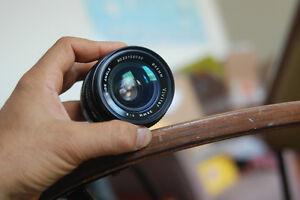 Canon FD mount Vivitar 28mm F2 Camera Lens for Canon FD