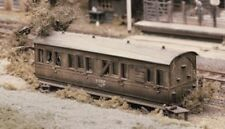 Small Grounded Coach body - Ratio 501 - OO/HO Building Kit - F1