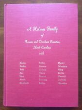 RARE Holmes Family of Rowan & Davidson Counties, North Carolina NC Genealogy 1st