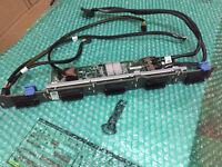 """10 BAY HDD BACKPLANE 2.5"""" KIT DELL POWEREDGE R620 SERVER Y028W 3971G 59VFH YRTCY"""