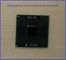 CPU Intel Core 2 Duo mobile T5550 1.8GHz micro 478 FCPGA