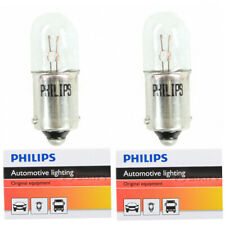 Two Philips Standard Mini Light Bulb 1850CP for 1850 T-3 1/4 5V 0.5W BA9s xl