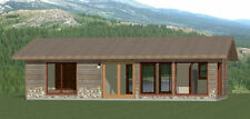 36x20 House -- 1 Bedroom 1 Bath -- 720 sq ft -- PDF Floor Plan -- Model 1A