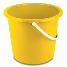 Yellow 10 litre Homeware Bucket  by Robert Scott & Sons - UHBY1030L