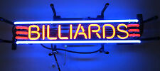 New Neon sign Gameroom Game room Billiards Rack Pool cue Table wall lamp light