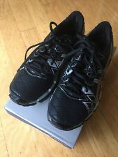 ASICS GEL KINSEI 5 BLACK GOLD SILVER Men's SIZE 7.5 T3E4Y Running Shoes