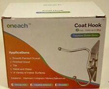 Adhesive Hooks(17.6lb/8kg) Sticky Nail Free Heavy Duty Waterproof.Free Shipping