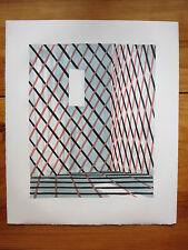 Thomas Huber 1 Original Farblithographie handsigniert und datiert (von 5 Lithos)