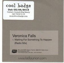 (EA470) Veronica Falls, Waiting For Something To Happen - 2013 DJ CD