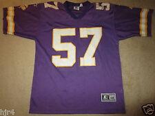 Dwayne Rudd #57 Minnesota Vikings NFL Starter Jersey 48 LG