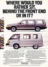 1990 Volvo 740 Wagon - van compare - Classic Vintage Advertisement Ad D92