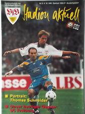 Programm BL 1996/97 VfB Stuttgart - SC Freiburg