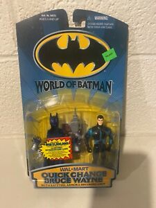 WORLD OF BATMAN Quick change Bruce Wayne MOC