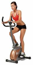 New Upright Fitness Cycle Home Gym Bicycle Cardio Train Weight Loss Adjustable