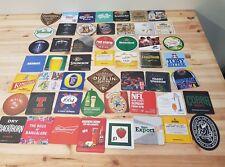 Joblot Minimum of 50 x Assorted Beer Mats / Drink Mats All New