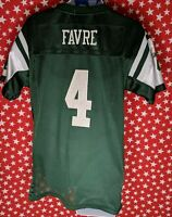 Brett Favre New York Jets Reebok Jersey #4 Men's Sz Small A629