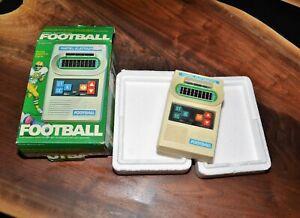 1977 MATTEL FOOTBALL w Original Box Vintage Handheld Electronic video game Box