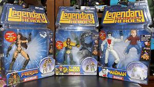 Legendary Comic Book Heroes Madman Witchblade Judge Dredd Timmy PITT BAF Marvel