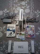 Pre-Owned Nintendo Wii System (White) with Games