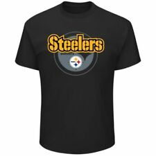 NFL Pittsburgh Steelers Men's Pick Six T-Shirt - Black Medium NEW WITH TAGS G3