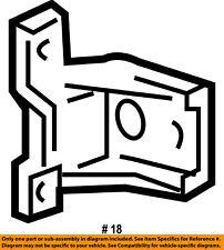 FORD OEM-Door Hinge-Lower 6C2Z1522810A