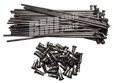 """19"""" Stainless Steel Spoke Set of 40 Harley Motorcycle #43025-73B 43024-73B New"""
