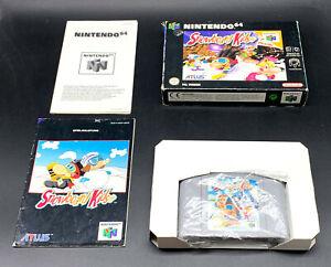 "Spiel: SNOWBOARD KIDS "" KOMPLETT OVP - N64 Nintendo 64"