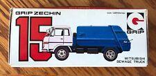 NIB Vintage Grip Zechin (Japan) Mitsubishi Sewage (Garbage/Waste/Trash) Truck