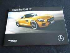 2016 Mercedes AMG GT German Detailed Brochure 16 European Prestige Sales Catalog